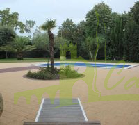 POOL WITH GARDEN